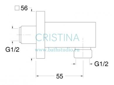Cristina Shower PD 470