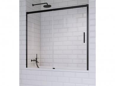 Radaway Idea Black PN DWJ Шторка на ванну 180см
