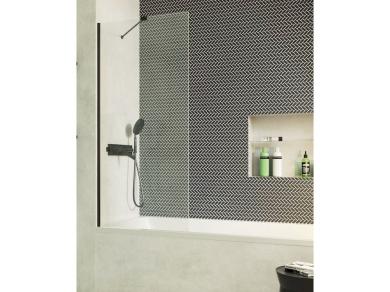 Шторка на ванну Radaway Modo New Black PNJ 100