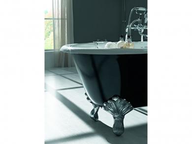 Чугунная ванна на ножках Dual 170х78