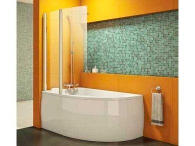 Шторка для угловой ванны Kolpa-san Sole TP 104