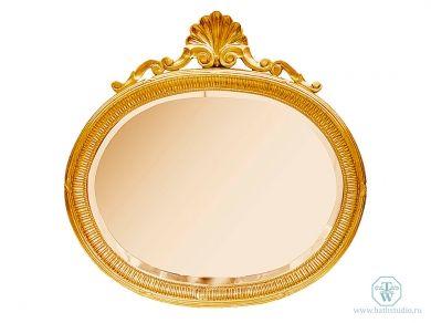 Tiffany World TW03199oro Зеркало 92x92см