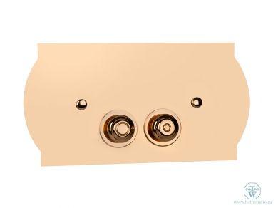 Tiffany World TW 300.3oro Панель смыва, кнопочная