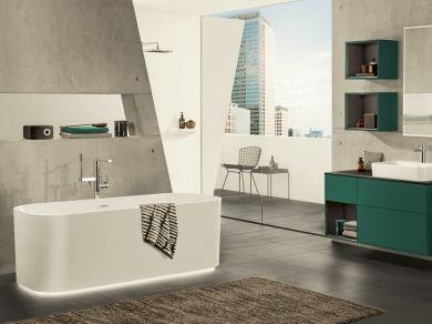 Квариловая ванна Villeroy&Boch Finion 170х70