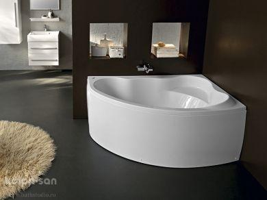 Асимметричная ванна Kolpa san Amadis 160x100