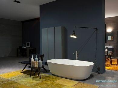 Ванна отдельностоящая овальная Antonio Lupi BAIA 185х90
