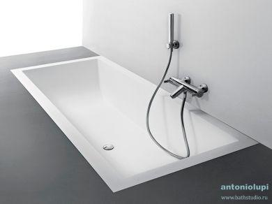 Ванна встраиваемая Antonio Lupi Biblio 180х80
