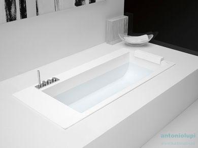 Ванна встраиваемая из искусственного камня Antonio Lupi Biblio 190
