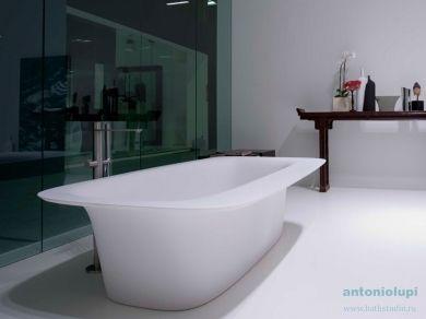 Antonio Lupi SARTORIALE 190 большая ванна из искусственного камня