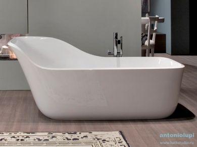 Овальная ванна  Antonio Lupi WANDA, отдельностоящая 178x84