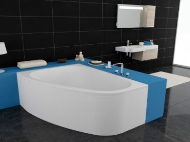 Акриловая ванна Kolpa San Chad 170x120