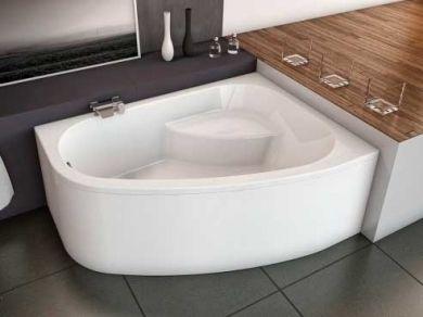 Асимметричная акриловая ванна Kolpa-san Chad S 170х120