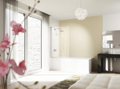 Шторка для ванны Huppe Design 100 и 120см