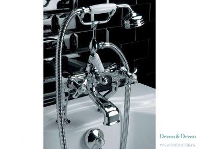 Devon&Devon Mayfair Смеситель для ванны с набортными держателями