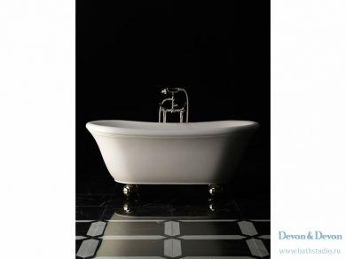 Отдельностоящая ванна Devon Devon Aurora Bijoux 172х87см