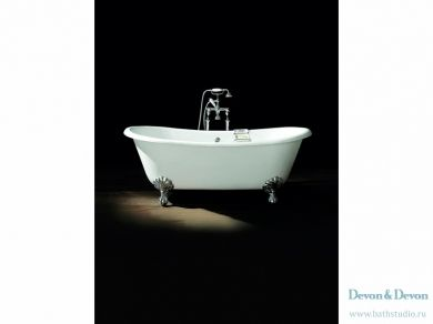 Отдельностоящая чугунная ванна Devon Devon Admiral 172х79