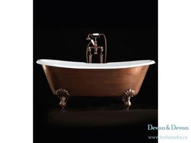 Ванна чугунная отдельностоящая Devon&Devon Admiral Cooper