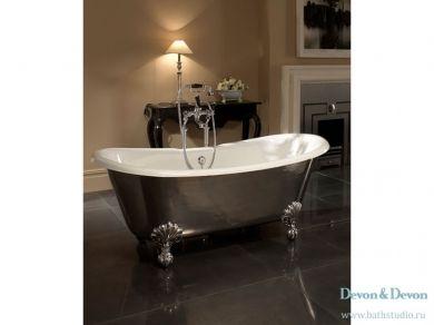 Чугунная ванна на ножках Devon&Devon Admiral Lux
