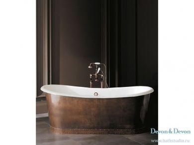 Отдельностоящая чугунная ванна Devon Devon Ambra