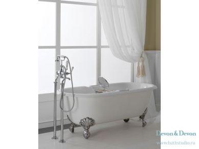 Чугунная ванна на ножках Devon Devon Draycott 170х79
