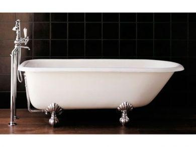 Чугунная ванна на ножках Devon Devon Kensington 154х78