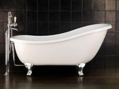 Чугунная ванна на ножках Devon&Devon Regina 164х79