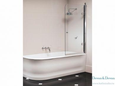 Devon&Devon Savoy S Шторка на ванну, размеры 70х130 и 80х130см