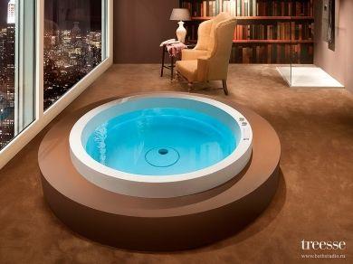 Круглая ванна Gruppo Treesse Dream d160