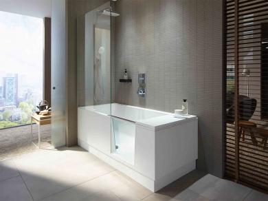 Ванна с дверцей Shower + Bath 170х75