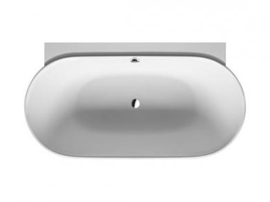 Ванна овальная Duravit LUV 180х95, искусственный камень