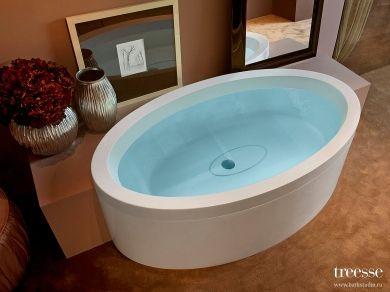 Овальная ванна Gruppo Treesse Eos 190х110
