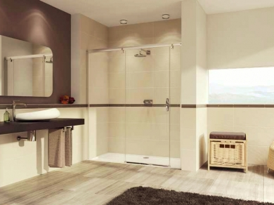 Дверь в нишу Huppe Aura Elegance 40180-40190