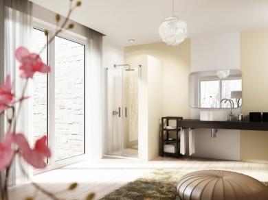Дверь для ниши Huppe Design 8E130-8P130