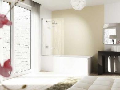 Шторка для ванны Huppe Design 8E2302