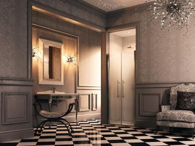 Дверь для ниши Huppe Design victorian DV07