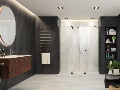 Раздвижная дверь Xtensa XT110 Black
