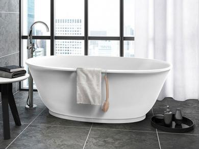 Jacuzzi Karina Отдельностоящая ванна 165х87см из Luxecast