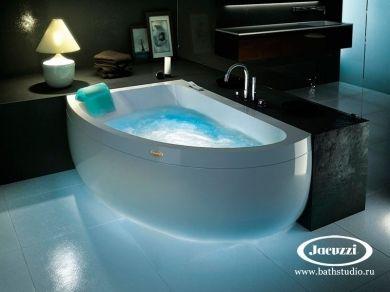 Jacuzzi Aquasoul Offset Ванна с гидромассажем 150х100см, асимметричная