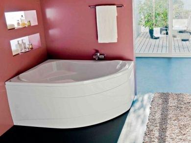 Акриловая угловая ванна Kolpa San Lulu 170х110