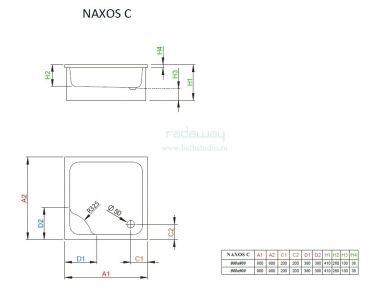 Radaway Naxos C