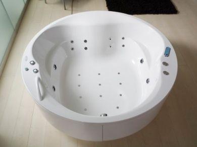 Круглая ванна-минибассейн Kolpa-san Opera 180