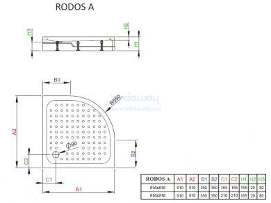 Radaway Rodos A