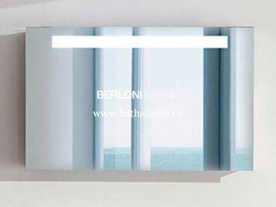 Зеркало с подсветкой Berloni Bagno 100х63см