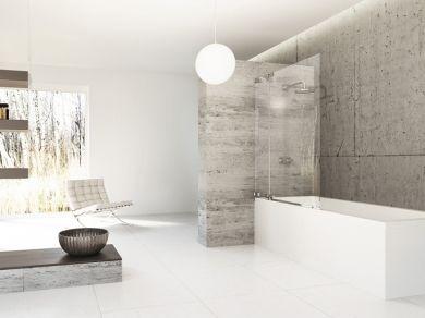 Шторка для ванны Huppe Studio Berlin 60-120см