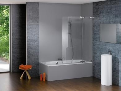 Шторка на ванну Huppe Studio Paris 60-120см
