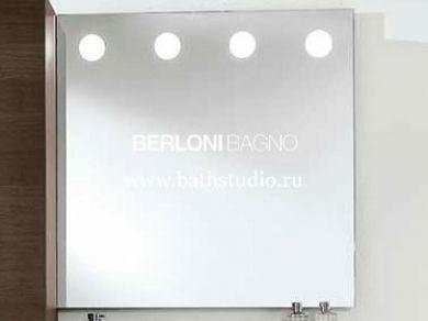 Зеркало с подсветкой Berloni Bagno 90х90см
