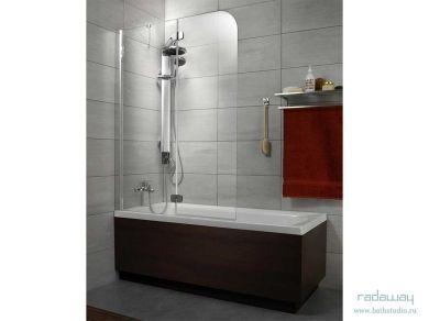 Шторка для ванны Radaway Torrenta PND 121х150см