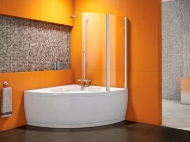 Шторка для угловой ванны Kolpa San Sole TP 102