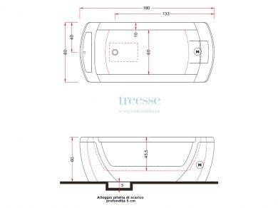 Gruppo Treesse Vision mts, размеры