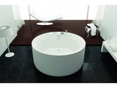 Круглая акриловая ванна Kolpa San Vivo d160